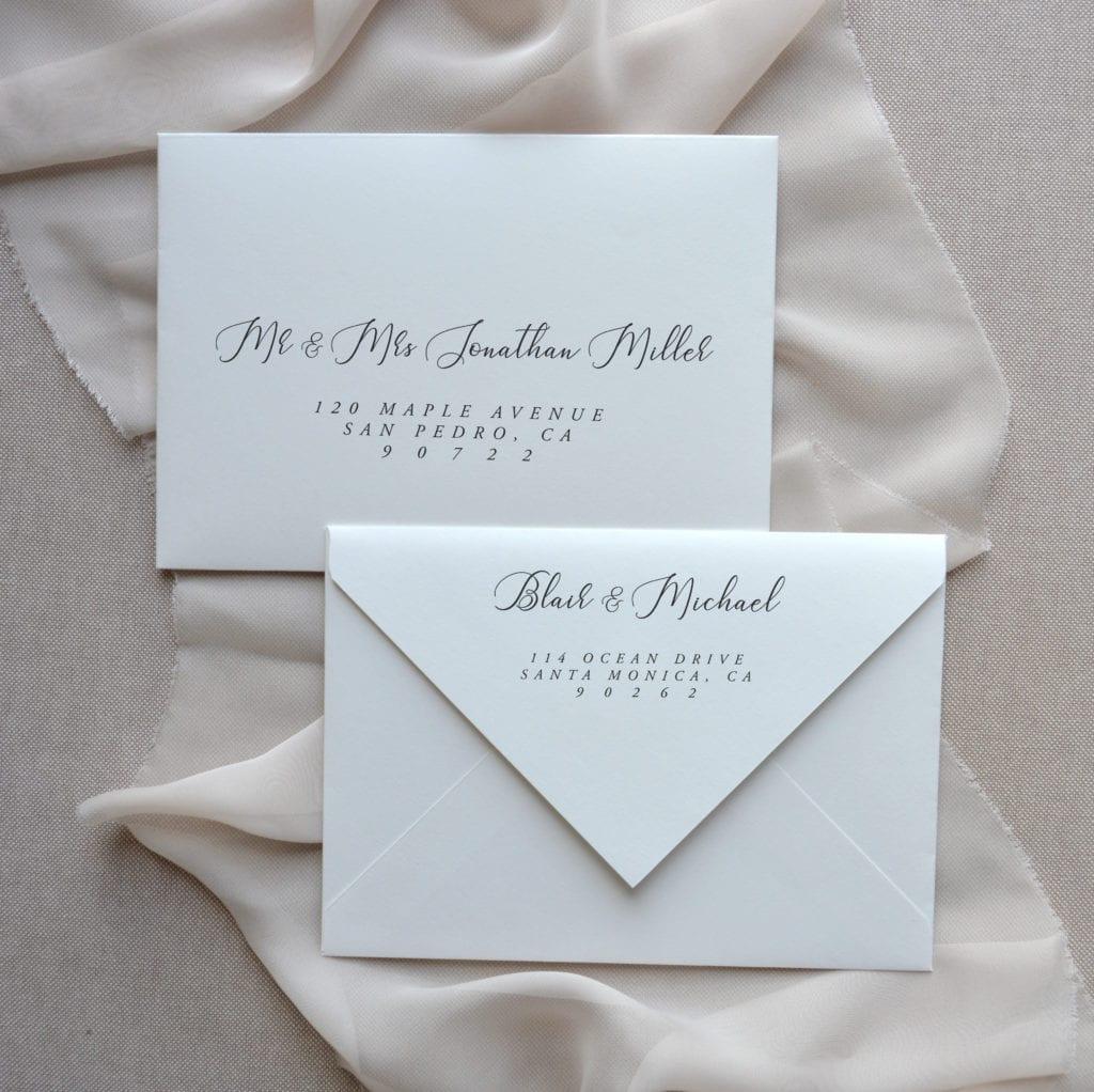 Envelope Addressing Papelosophie