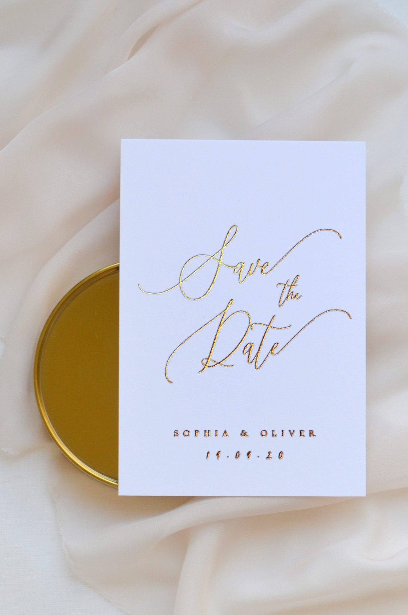 Gold Foil Print Method Papelosophie